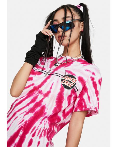 Other Dot Tie Dye Graphic Tee