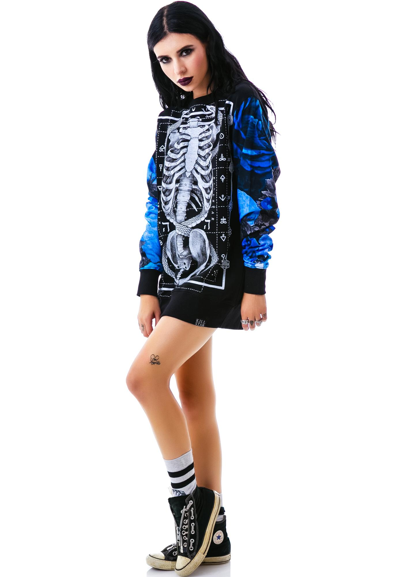 Killstar Ribcage Sweatshirt