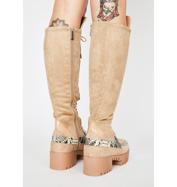 Dusty Max Energy Knee High Boots