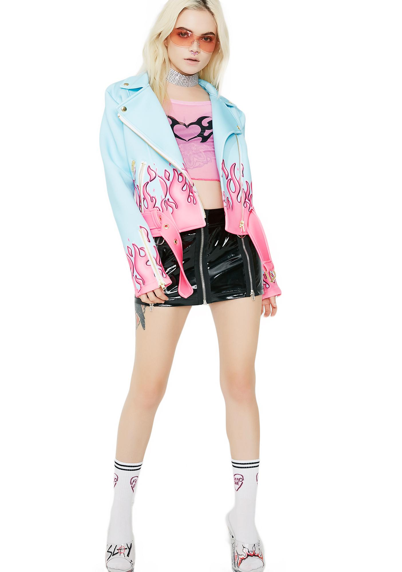 Sugarpills Smokin Hot Moto Jacket