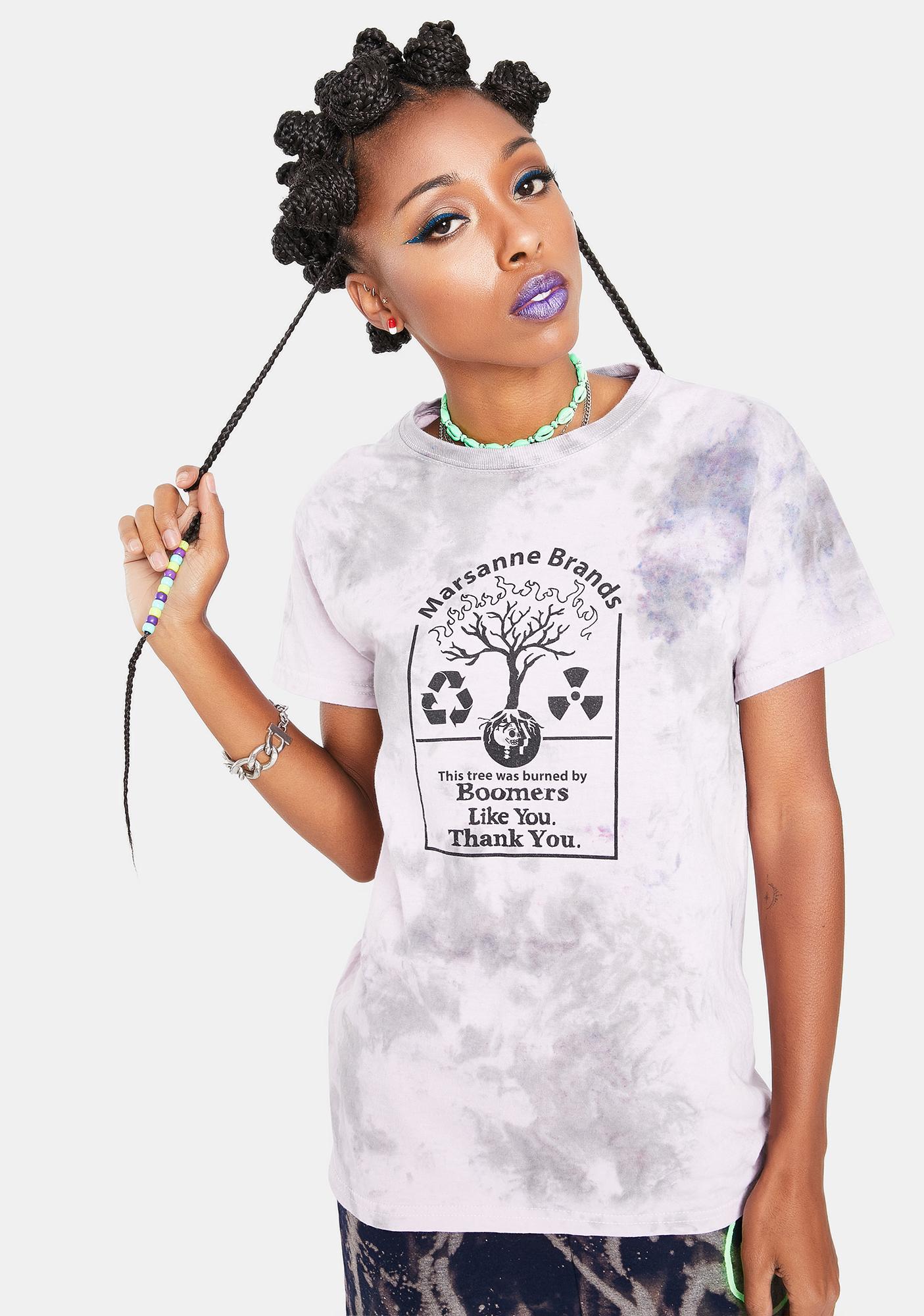 Marsanne Brands Ok Boomer Graphic Tee