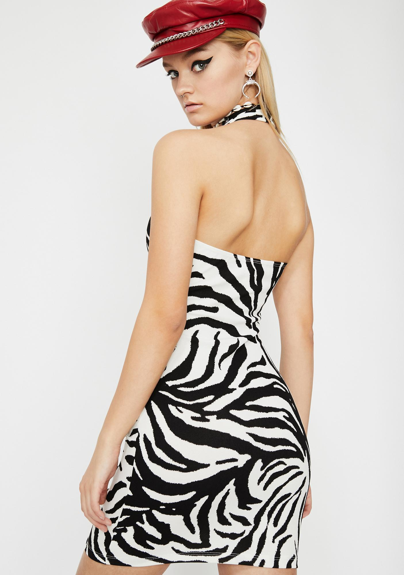 Night Out Halter Dress