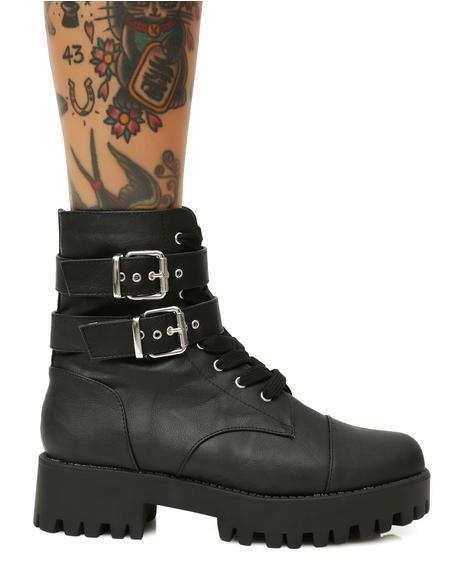 Ready For Battle Combat Boots