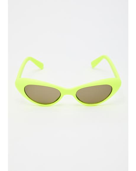 Neon Pow! Sunglasses