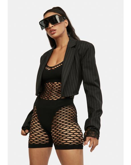 Why Worry Fishnet Body Stocking