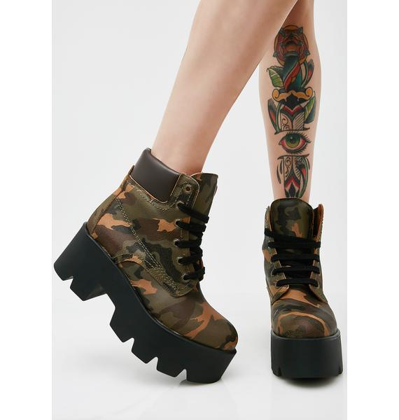 Shellys London Terrence Platform Boots