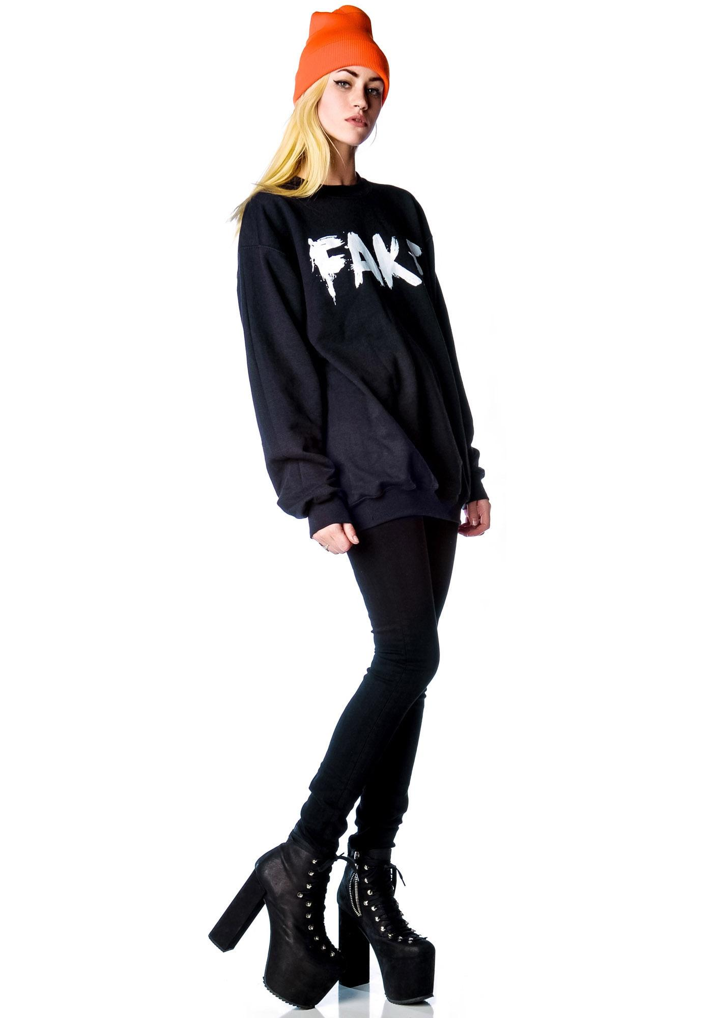 Petals and Peacocks Fake Sweatshirt