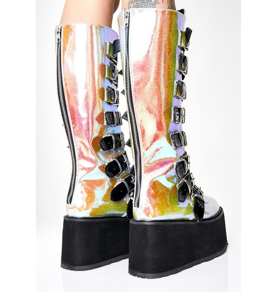 Demonia Acid Morpheus Platform Boots