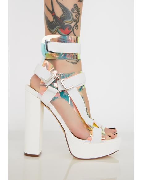 Icy Revenge Plot Platform Heels