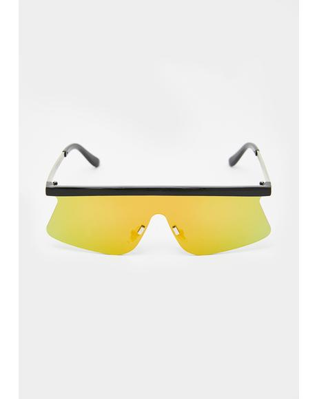 Radio Active Shield Sunglasses
