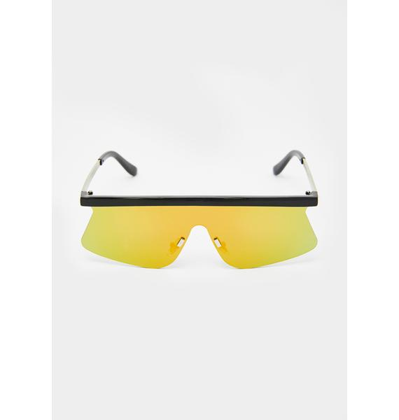 Radio Active Shield Sunglasses
