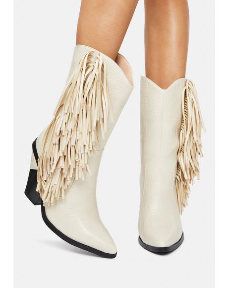 Fagan Fringe Cowboy Boots