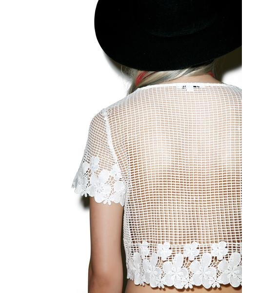 Glamorous Pretty Lil Thing Crop Top