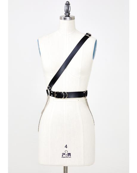 Mean Mistress Crossbody Belt