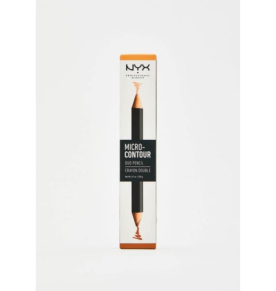 NYX Professional Makeup Medium Deep Micro Contour-Duo Pencil