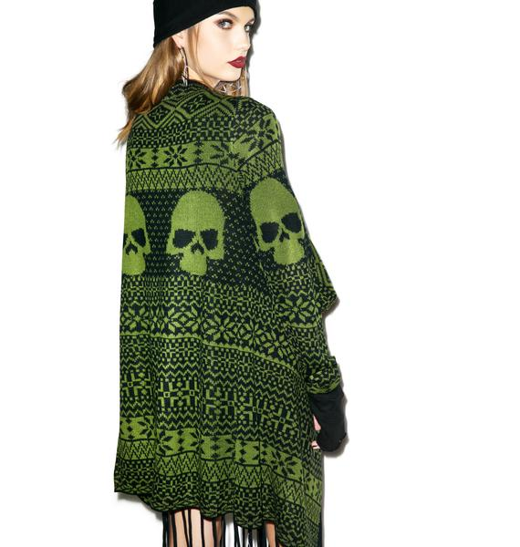 Iron Fist My Skull Sweater