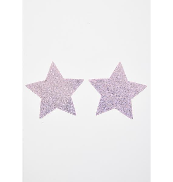 Pastease Sparkly Star Pasties