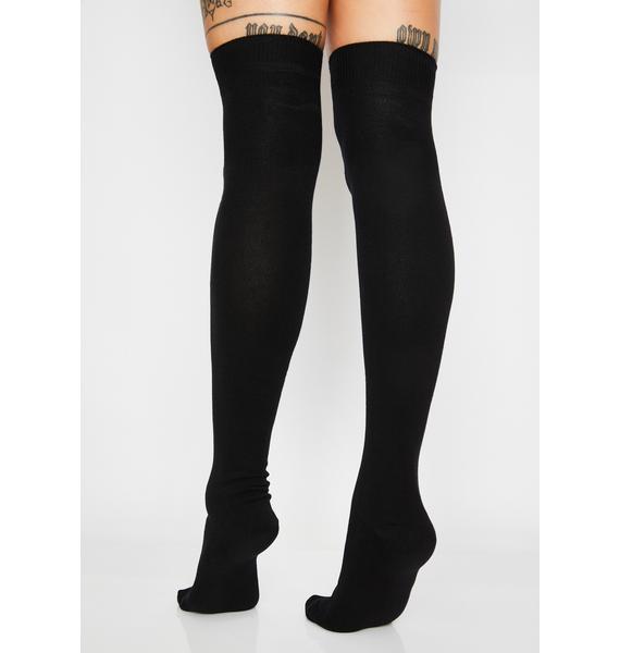 Lonely Girl Over The Knee Socks