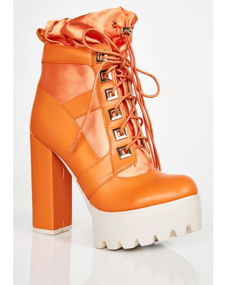 Extreme Renegade Platform Boots