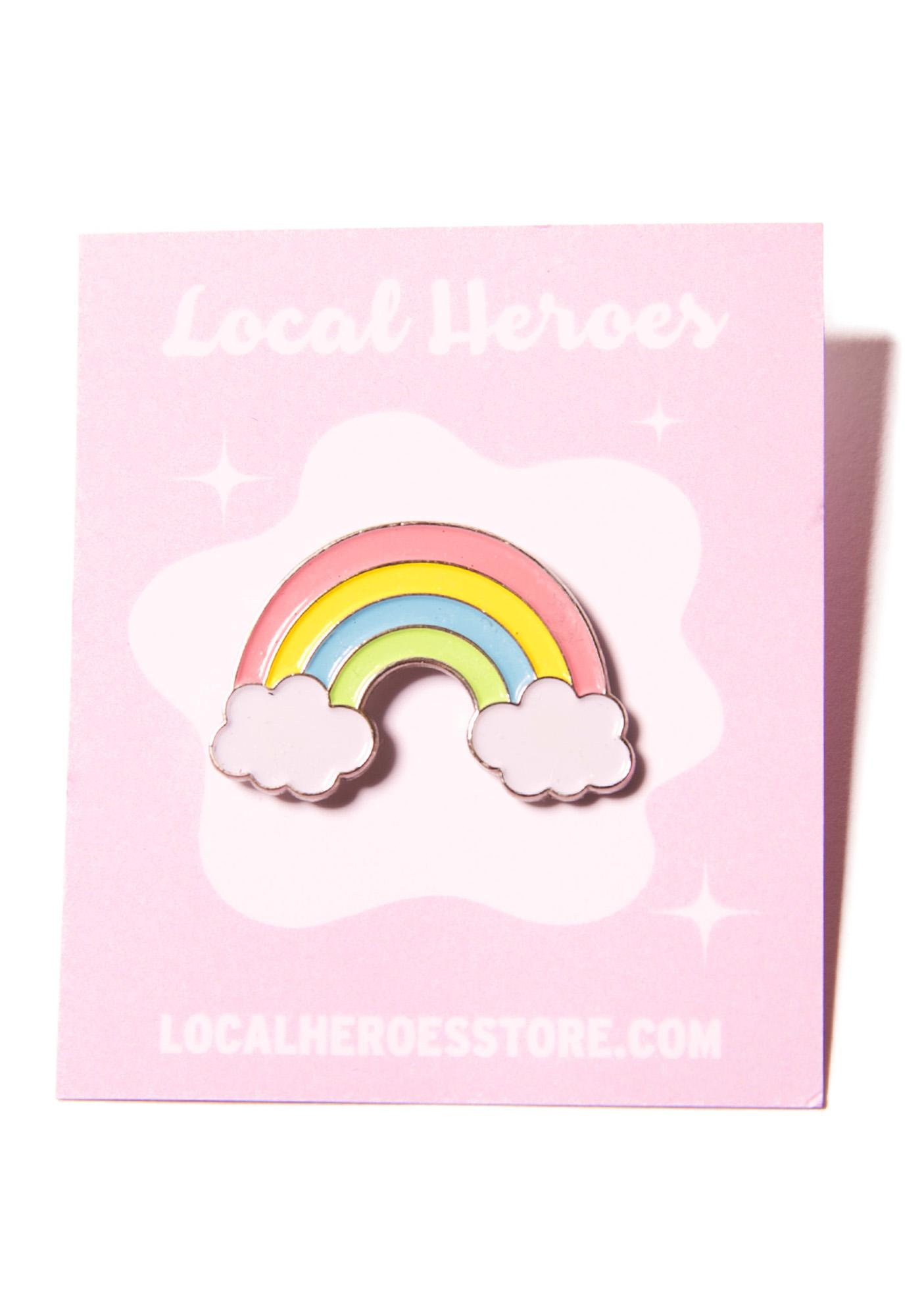 Local Heroes Rainbow Pin