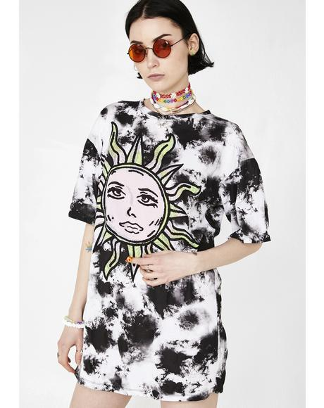 Tie Dye Sunny Kiss Dress