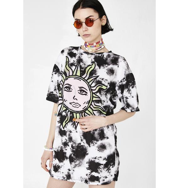 Motel Tie Dye Sunny Kiss Dress