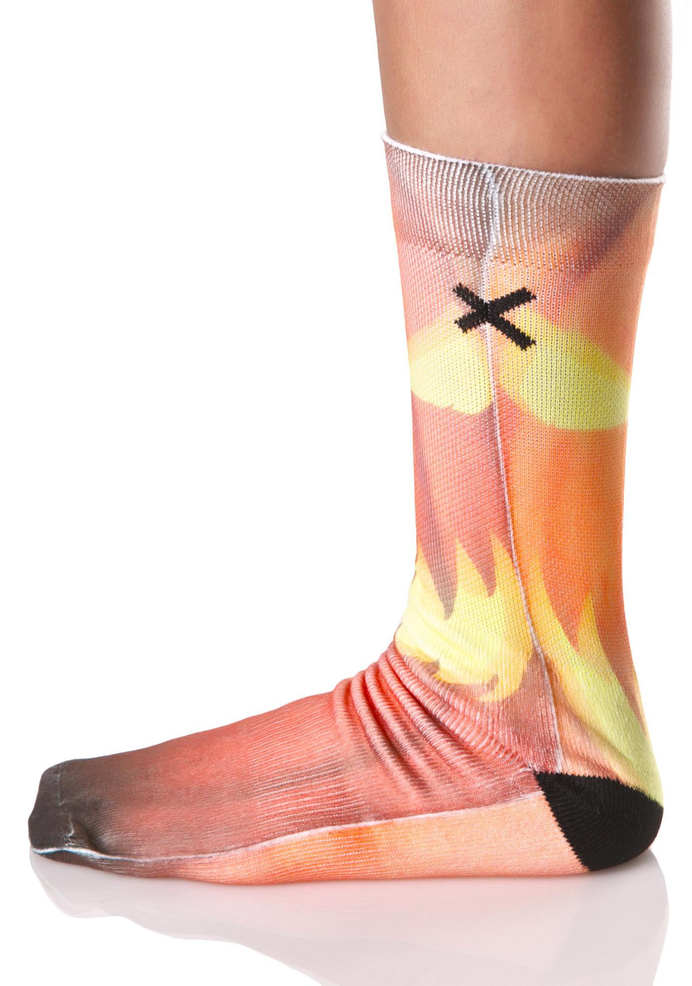 Odd Sox Jack O Lantern Socks