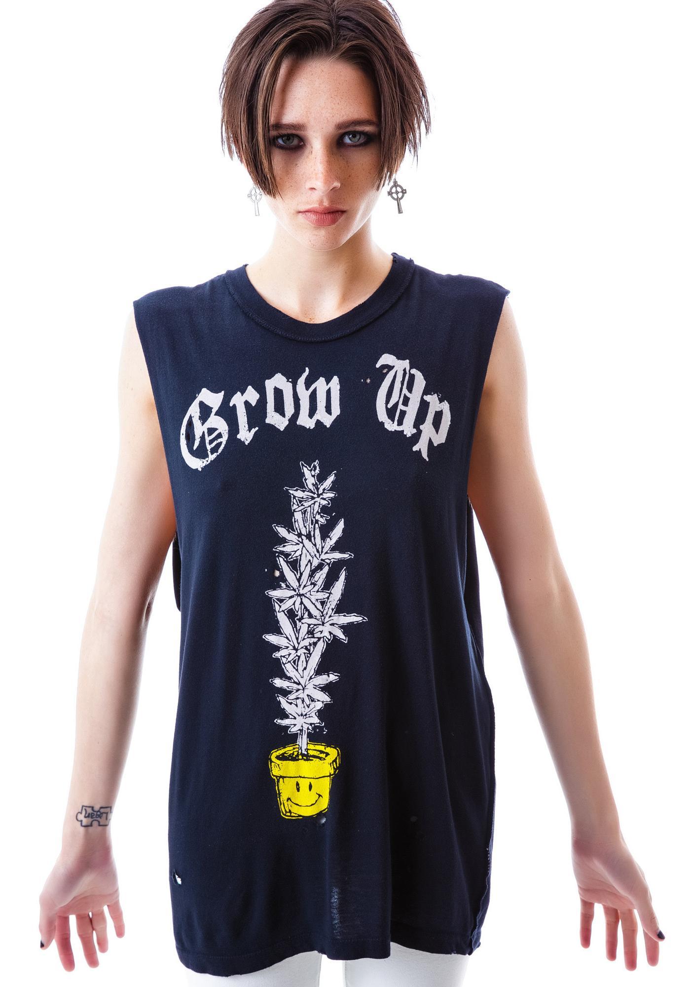 UNIF Grow Up Sleeveless Tee