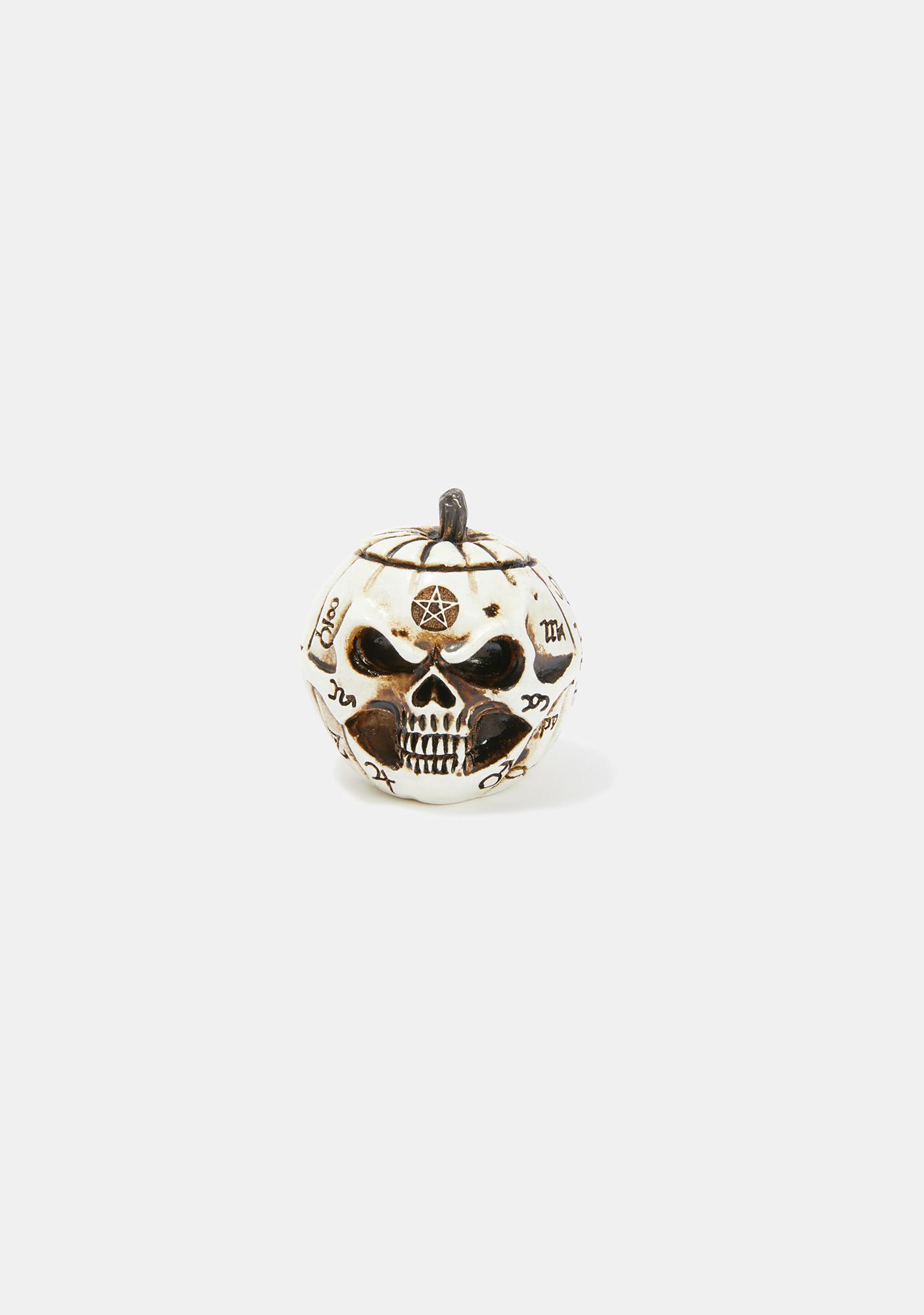 Alchemy England Pumpkin Skull Pot