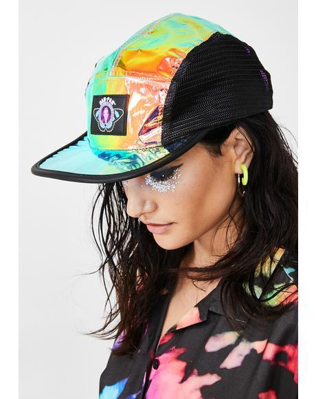 Iridescent Snapback Hat