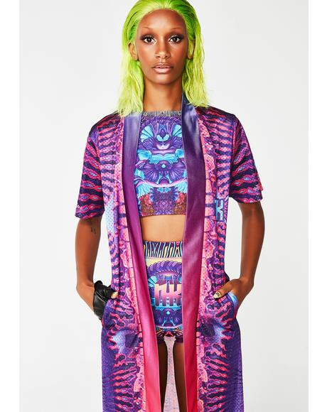 Digital Drift Rave Robe