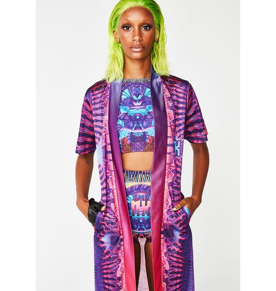 Nixi Killick Digital Drift Rave Robe