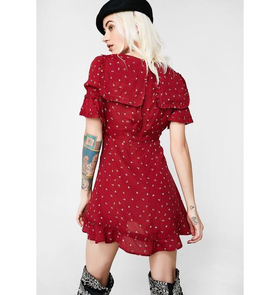 For Love & Lemons La Tez Mini Dress
