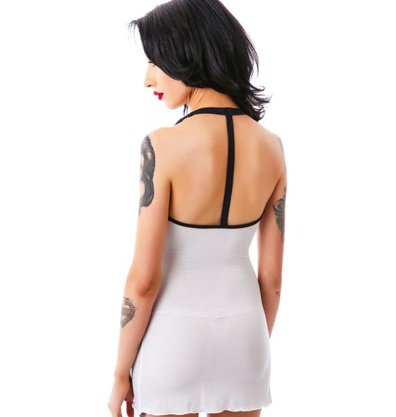 Love Haus Meant To Be Rib Pocket Chemise