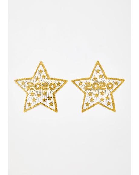 2020 Sequin Star Pasties