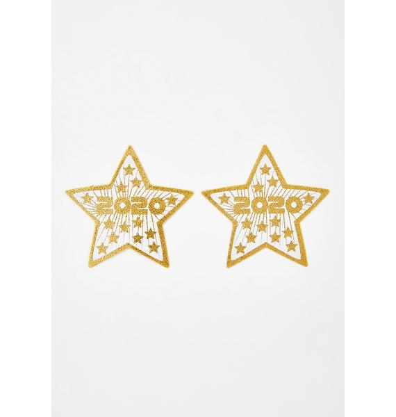 Pastease 2020 Sequin Star Pasties