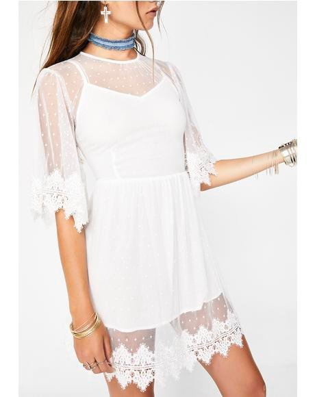 Leave With Me Babydoll Dress
