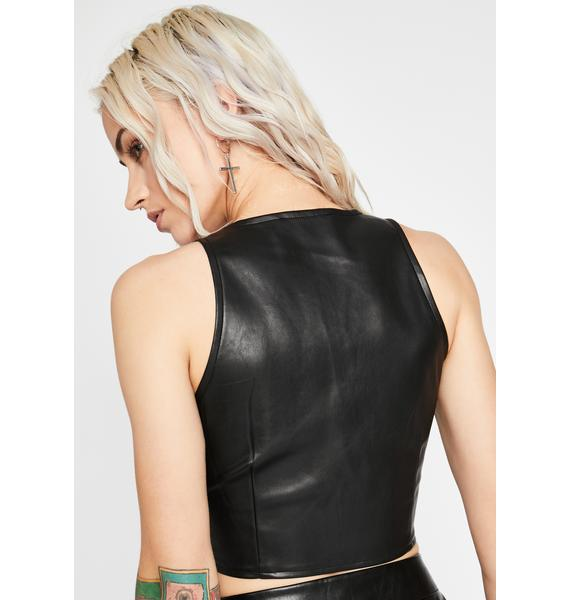 Hard To Punish Cut-Out Bustier