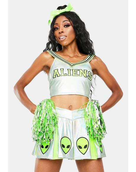 Area 51 Raid Cheerleader Costume