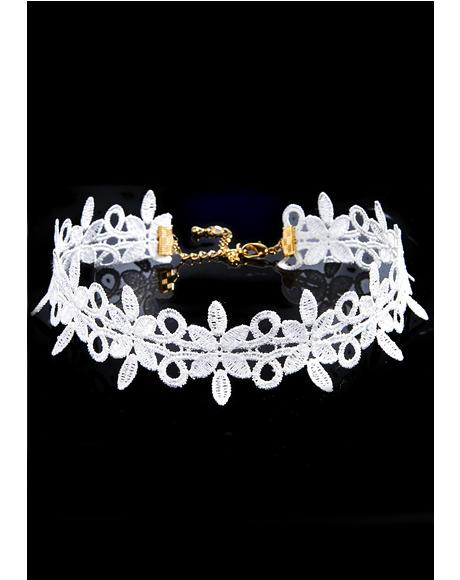 Blooming Dream Lace Choker