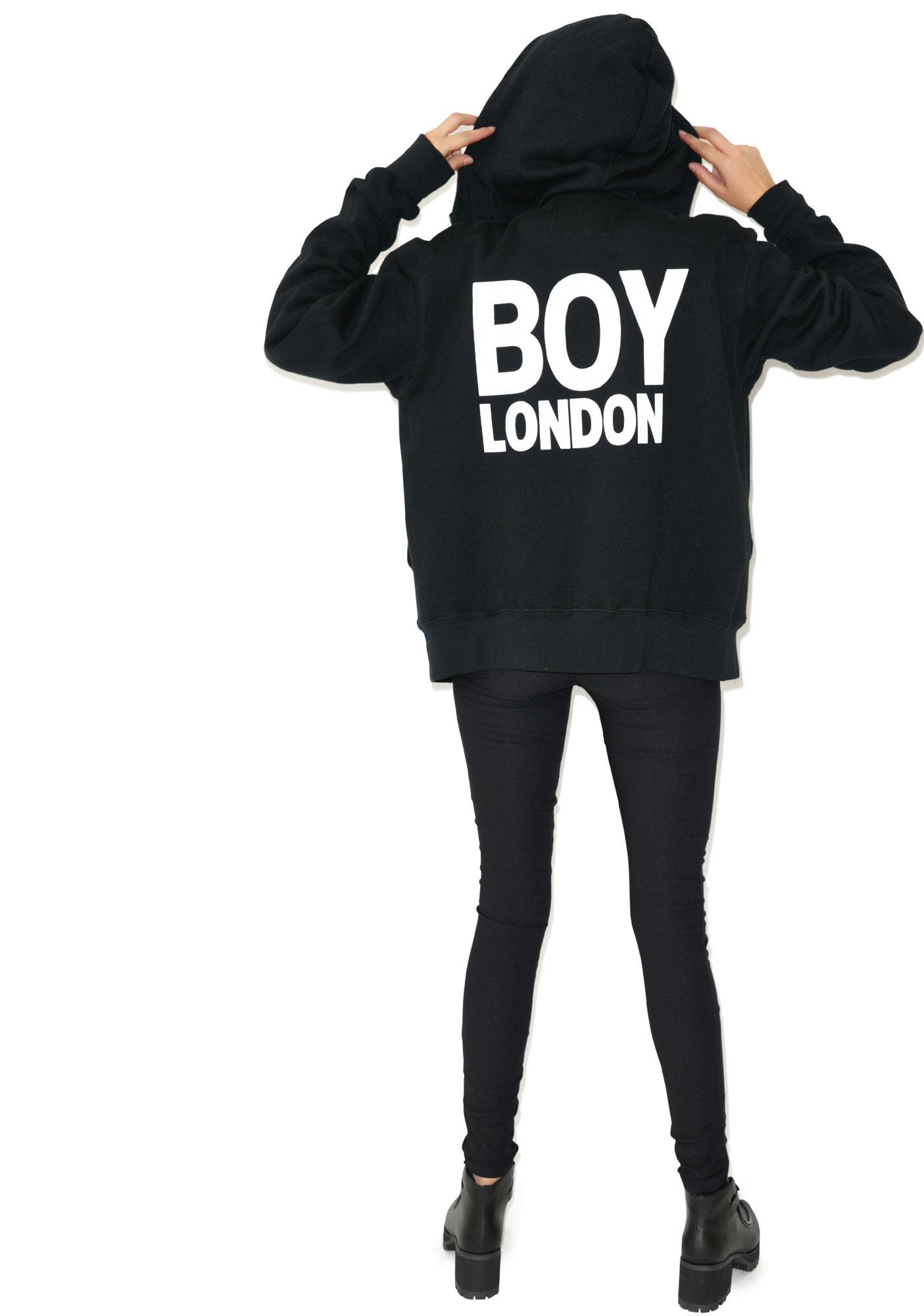 BOY London BOY London Eagle Zip Hoodie