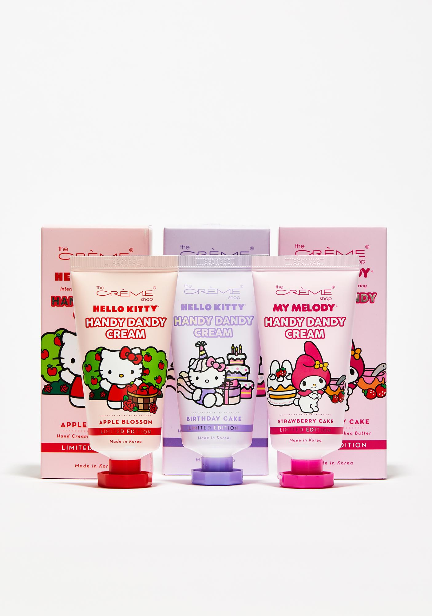 The Crème Shop Birthday Cake Hello Kitty Hand Cream