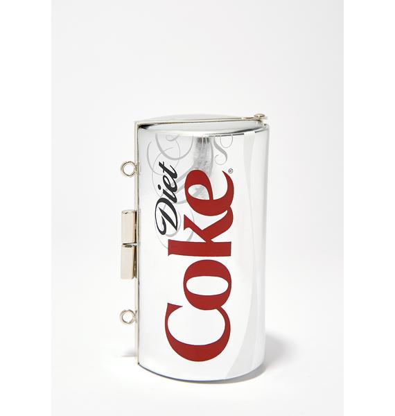 But First Diet Coke Can Clutch