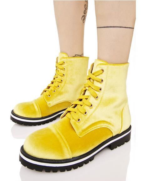 Yr All That Velvet Boots