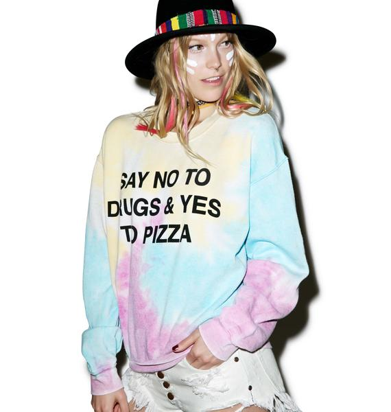Jac Vanek No To Drugs Sweatshirt