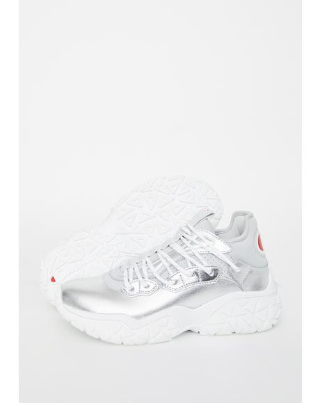 Silver Tank Classic Sneakers