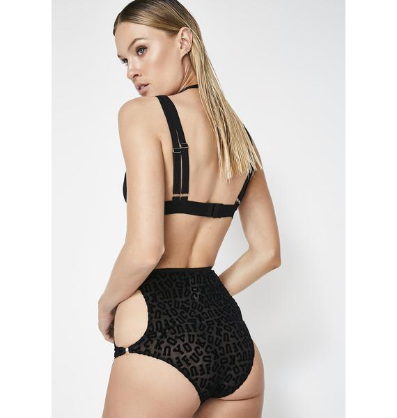Silent Arrow F.U Hi Waist Panties