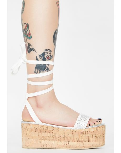 Get It Right Platform Sandals