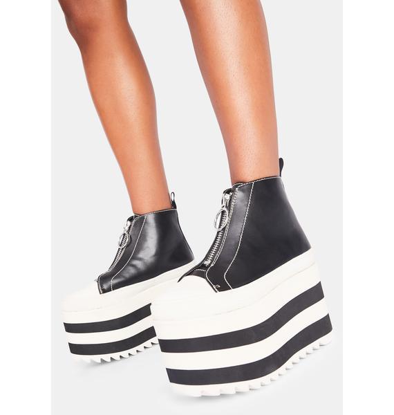 Current Mood Major Miseducation Platform Sneakers