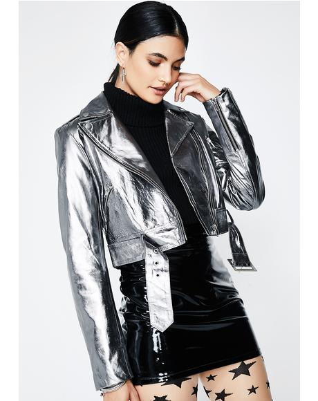 Electric Vibration Moto Jacket